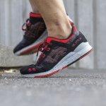 buty sportowe na stopach