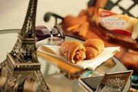 Mleczno - karmelowe rogaliki Bonjour